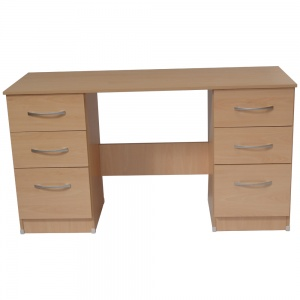 Beech Double Desk-0
