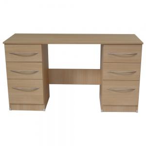 Oak Double Desk-0