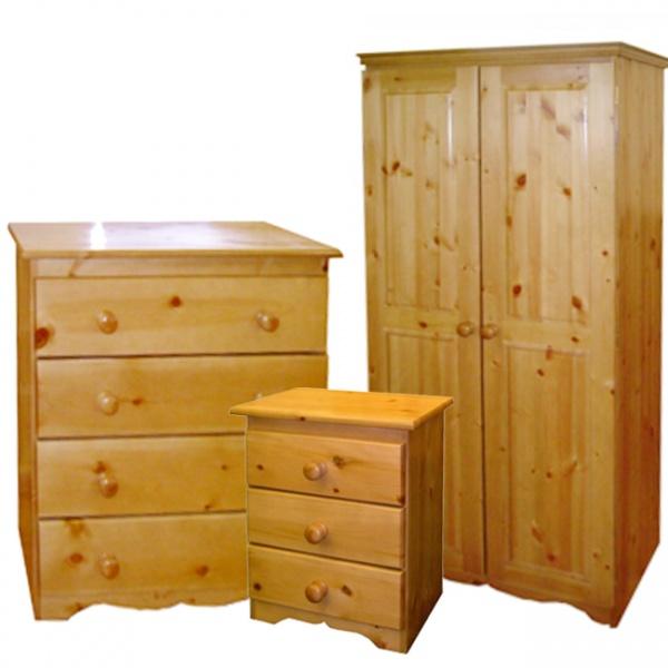 Pine Bedroom Set-0