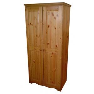 Pine Combi Wardrobe-0