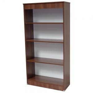 Walnut Tall Bookcase-0